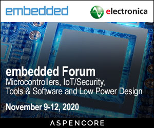 Visit our Embedded Forum, too!
